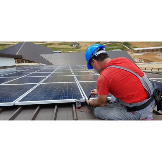 Komplett napelem rendszerek telepítése