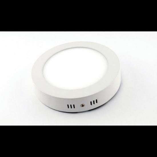 LED panel , 6W , falon kívüli , kerek , meleg fehér , Epistar chip , LEDISSIMO