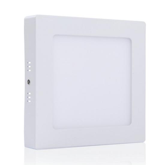 LED panel , 6W , falon kívüli , négyzet , természetes fehér , Epistar chip , LEDISSIMO