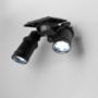 Kép 4/4 - Két ágú szolár LED lámpa mozgásérzékelővel