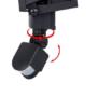 Kép 5/6 - Mozgásérzékelős, napelemes reflektor, 60 LED