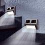 Kép 1/5 - Falra szerelhető kültéri napelemes lámpa (4 db)