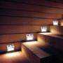 Kép 5/5 - Falra szerelhető kültéri napelemes lámpa (4 db)