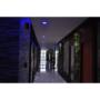 Kép 3/7 - RGB-CCT LED panel , 12W , süllyesztett , kerek , dimmelhető , színes , állítható fehér színárnyalat , Bluetooth , LEDISSIMO SMART